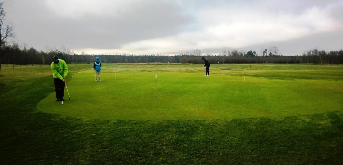 Hangö Golf träningsbana